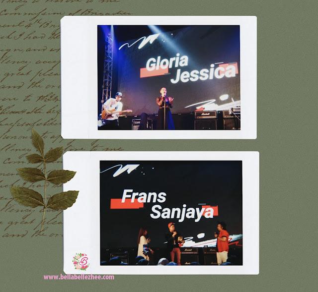 Frans sanjaya dan Gloria Jessica