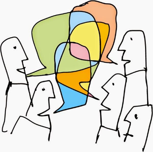 pola gilir dalam komunikasi