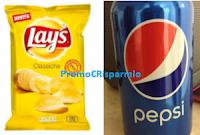 Logo Vinci 50 forniture di prodotti Lay's e Pepsi e subito per te un regalo sicuro!