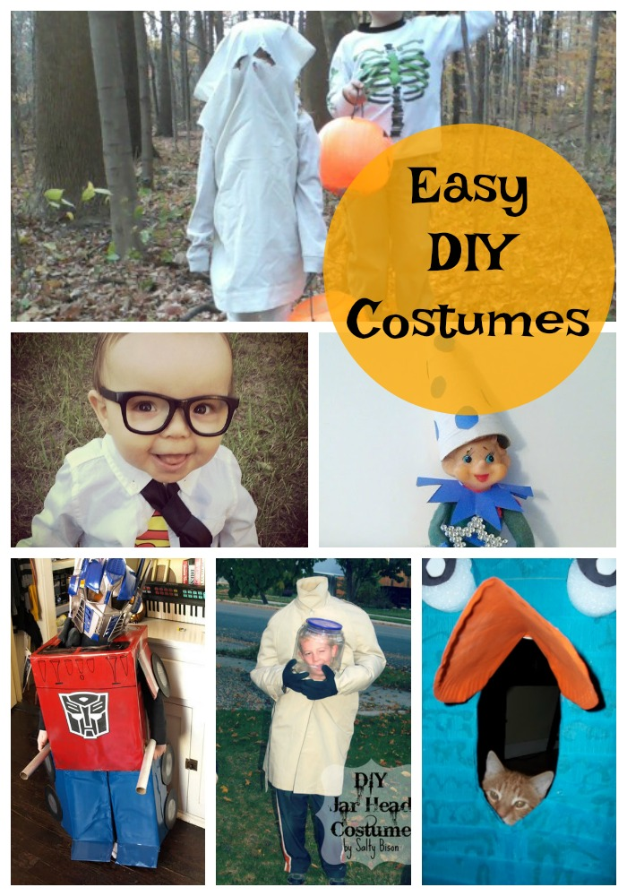 20 Easy Diy Halloween Costume Ideas For Kids Adventures Of Kids