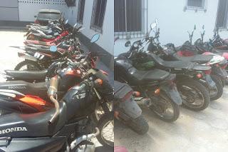 Em Tutóia operação Policial retira das ruas 10 motos irregulares