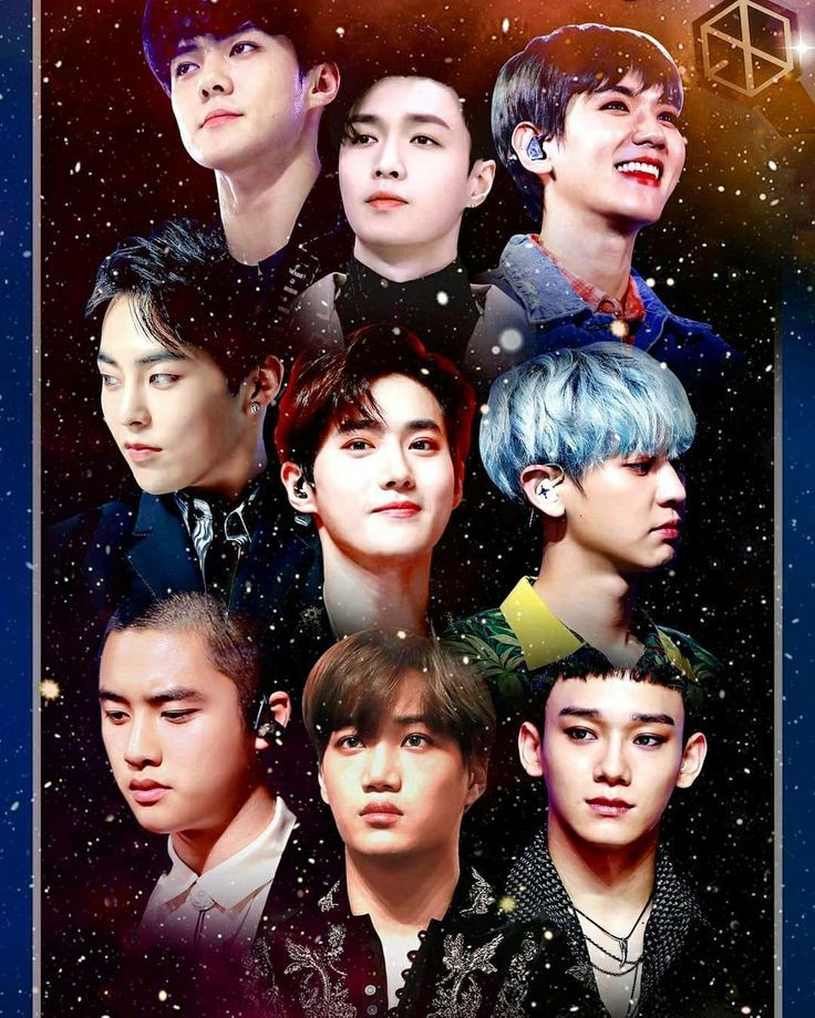 Exo Group Picture : group, picture, Members, Photo, Collection, WaoFam