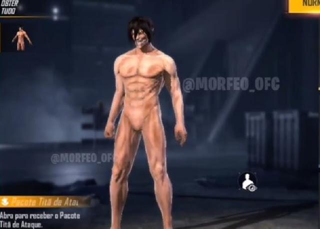 Skin Attack Titan (Titan Eren)