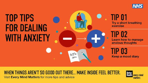 Simple tips for dealing with anxiety UK Government