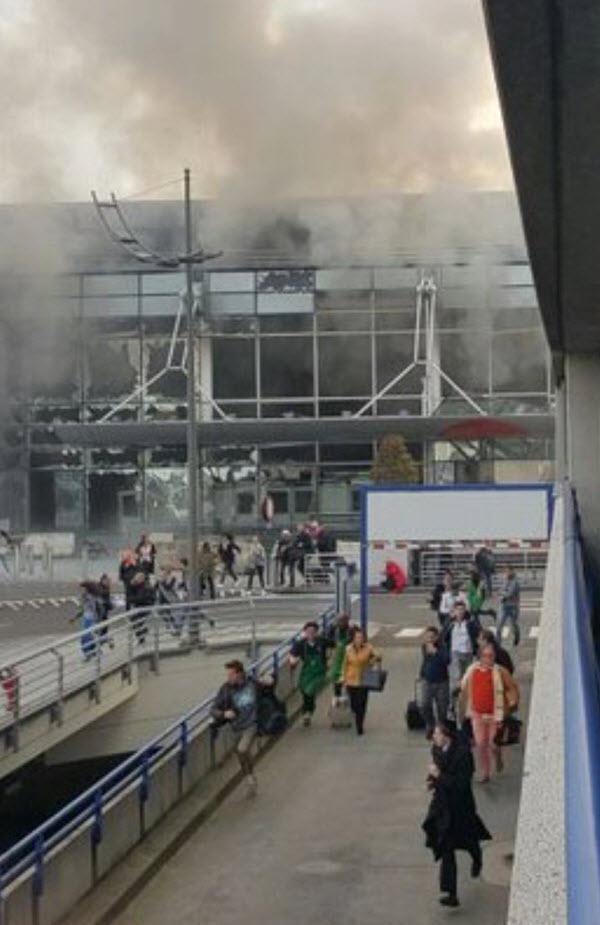 Τρομοκρατικό Χτύπημα του ISIS στο Αεροδρόμιο και το Μετρό των Βρυξελλών