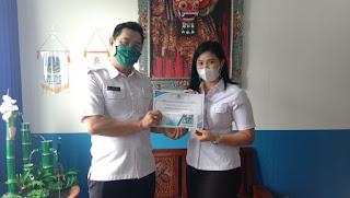 Gusti Bagus Krishna Dwipayana, Putra Putri Sekolah Ajeg Bali 2020, SMK TI Bali Global Badung
