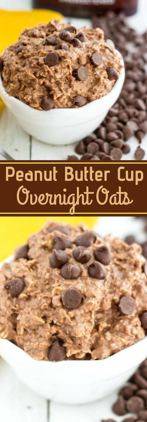 PEANUT BUTTER OVERNIGHT OATS #healthydiet #peanut #paleo #butter #easy