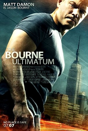 Poster of The Bourne Ultimatum (2007) Dual Audio Hindi 720p BluRay ESubs Download