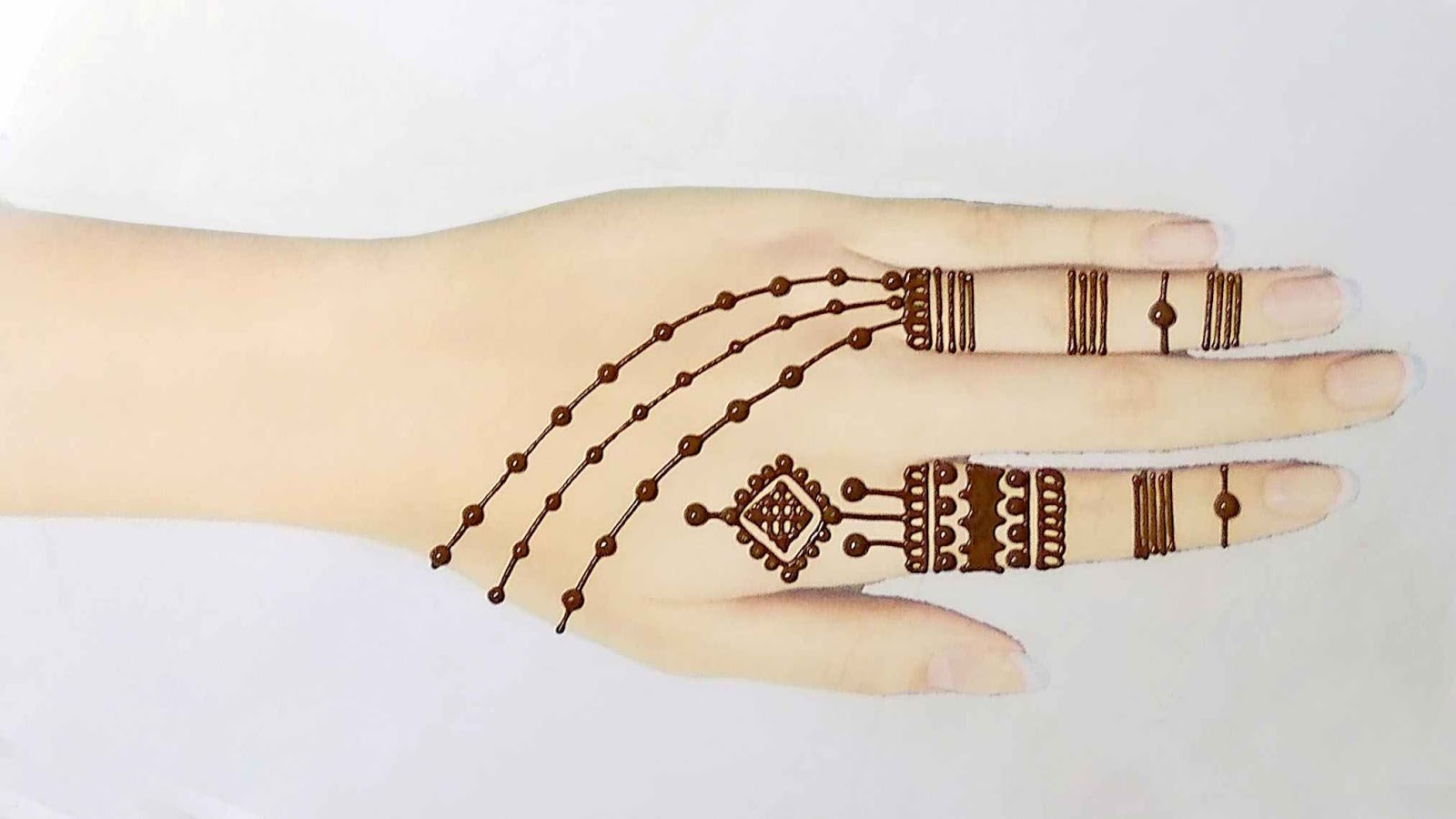 simple henna tattoos