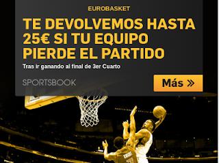 betfair promocion 25 euros Eurobasket 2017