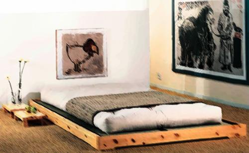 Lo que debes saber sobre camas japonesas Costumbres de Asia
