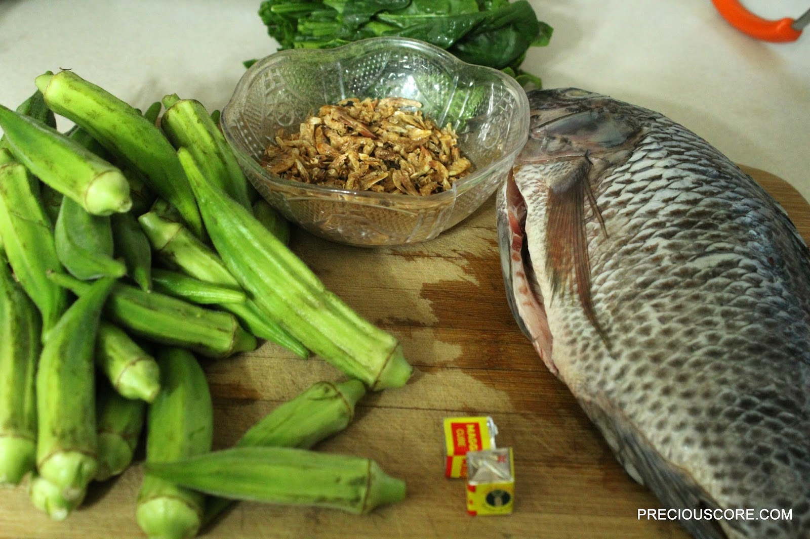 how to prepare okro soup with tilapia