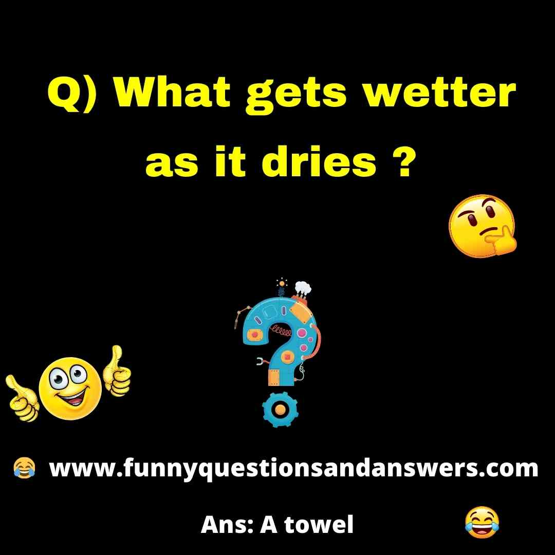 Funny Puzzles And Answers For Kids