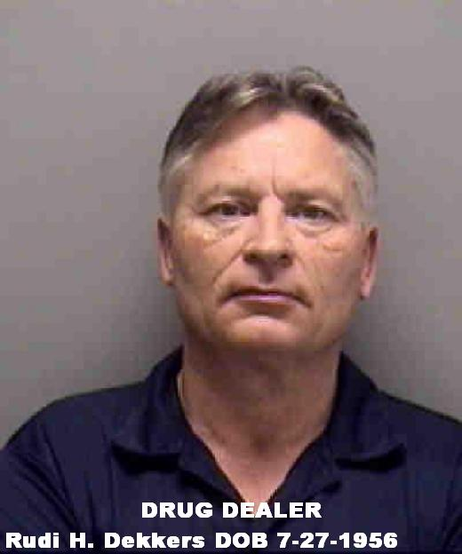 FINALLY Rudi Dekkers Behind Bars for Smuggling 40 Pounds Of Cocaine And 2 Pounds Of Heroin in Texas, Did Deckers Deal Drugs Before 9/11.