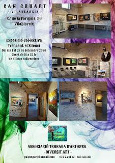 Can Gruart - Exposició Col·lectiva - Trencant el Silenci
