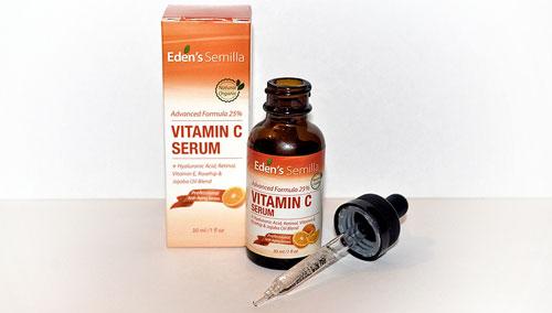Cremas con vitamina C para el rostro