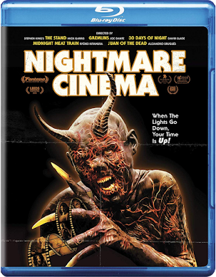 NIGHTMARE CINEMA Bluray Cover