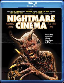 Nightmare Cinema Blu-ray cover