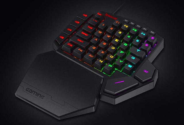ReDragon Diti K585 RGB - mechanical one-hand keyboards