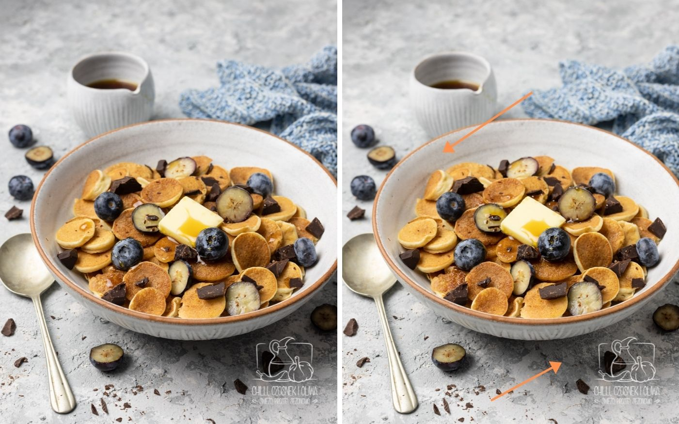 Pancake cereal - Jak zrobić takie zdjęcie?
