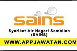 Jawatan Kosong Terkini di Syarikat Air Negeri Sembilan (SAINS) - 27 Oktober 2017