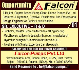 Engineers, Supervisor, Drive, CNC/ VMC Operators Job Vacancy Walk In Drive For Galcon Pumps Pvt Ltd