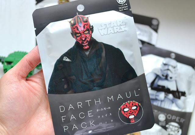 Darth Maul Star Wars Sheet Mask