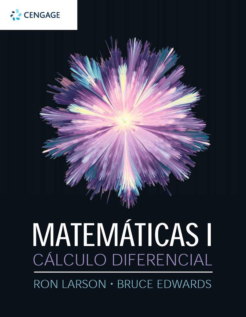 Matemáticas I. Cálculo diferencial – Ron Larson