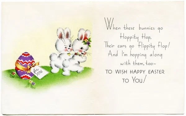 Easter Greeting Card Wishes