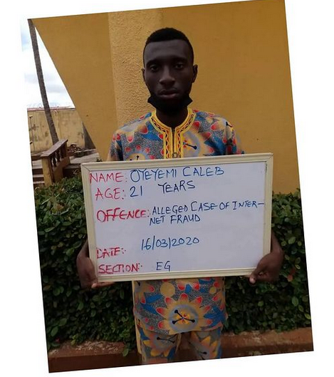 Corps Member Bags 2 Years Imprisonment For Yahoo-Yahoo Romance Scam