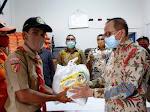 10.000 Relawan Covid-19 Sumbar Terima Bantuan Pangan Tambahan