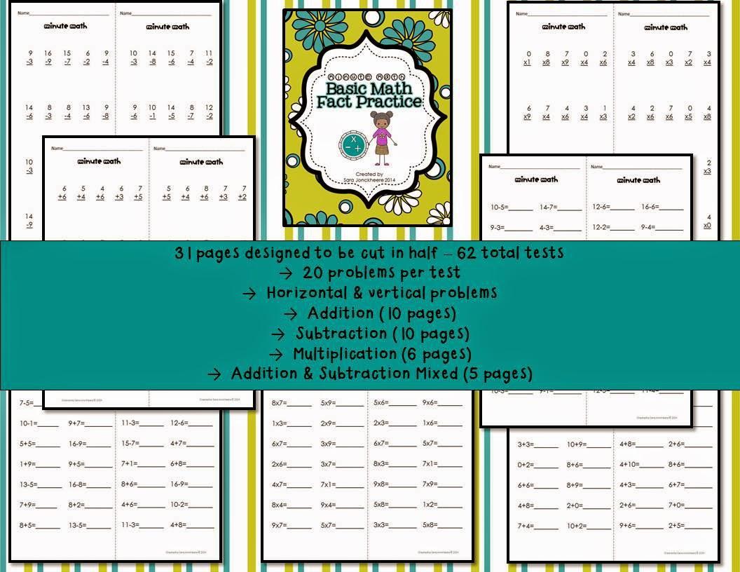 Practicing Basic Math Facts