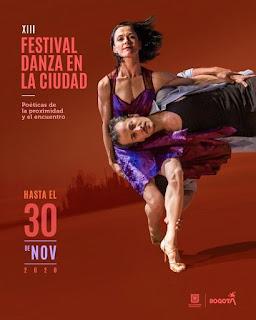 13 FESTIVAL DANZA EN LA CIUDAD Bogotá 2020