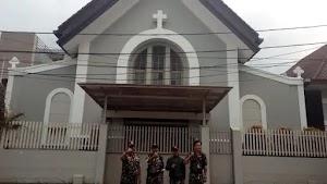 Mengaku Ikhlas Tanpa Pamrih, Banser Garut Kompak Jaga Seluruh Gereja