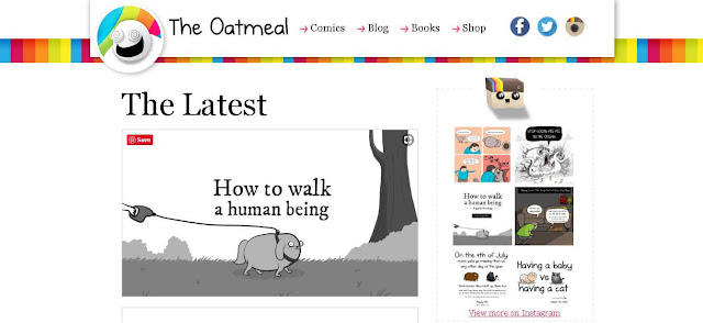 The Oatmeal - fun websites