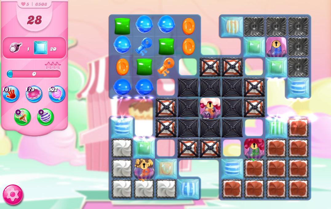 Candy Crush Saga level 6508