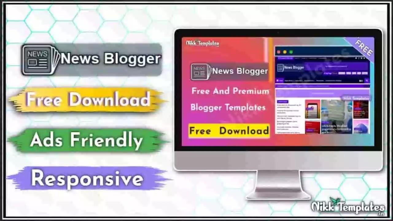 [Orginal] News Blogger - Professional & Magazine Template-{Free Download}