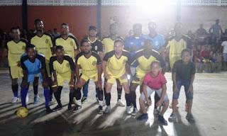 Torneio de Futsal em Itaetê
