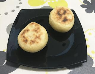 Pan hecho en la sartén