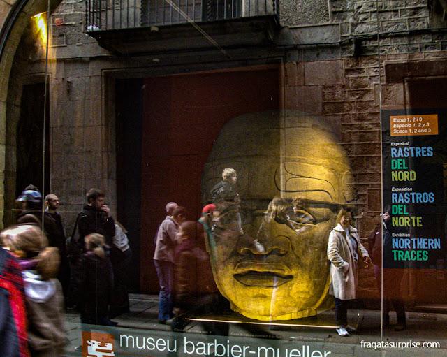 Museu das Culturas do Mundo (Museu de Cultures del Món), na Carrer de Montacada, Barcelona