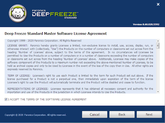 شرح طريقة تنزيل برنامج الديب فريز تحميل برنامج Deep Freeze 2020 مع التفعيل متوافق مع ويندوز 10 وويندوز 7 - موقع دروس4يو Dros4U
