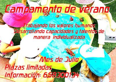 Campamento de verano Waldorf Tenerife 2021