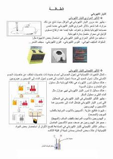 15 - ملخص دروس الايقاظ العلمي سنة سادسة صور