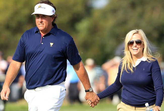 how did phil mickelson meet his wife amy