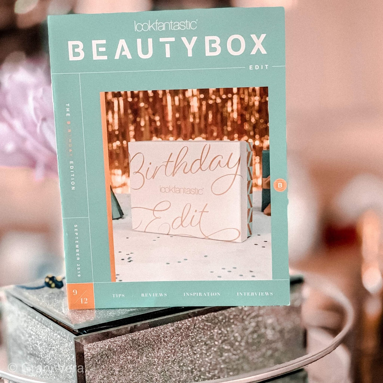 lookfantastic birthday box unboxing