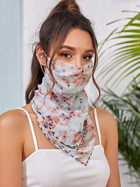 Lenço Máscara para Proteção Facial