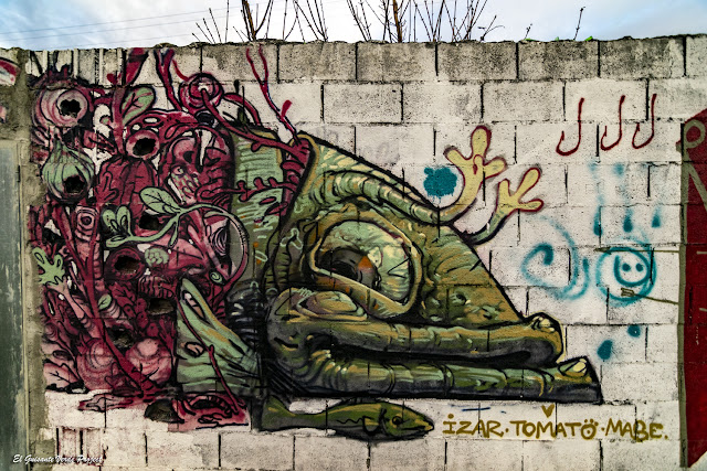 Mural en Ribera de Zorrozaurre - Bilbao