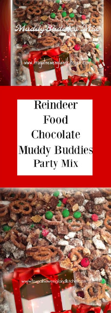 Muddy Buddies Mix Reindeer Food