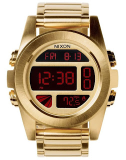 Nixon Unit SS Gold Digital A360502