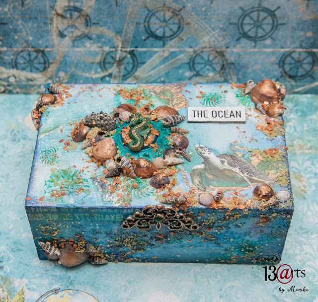 """Szkatułka """"Ocean"""" / Box """"The Ocean"""""""